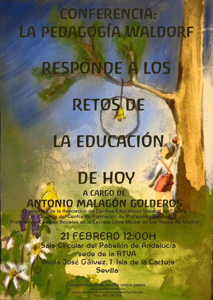 Recordatorio sobre Conferencia sobre Pedagogía Waldorf