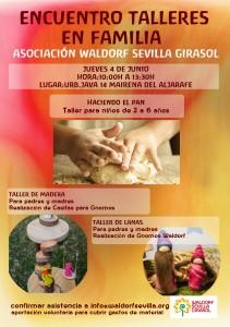 ENCUENTRO FAMILIAR DE TALLERES WALDORF 4 DE JUNIO