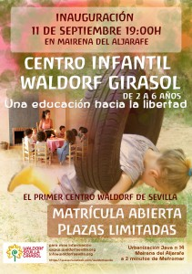 """Inauguración Centro de educación Infantil Waldorf """"Girasol"""""""