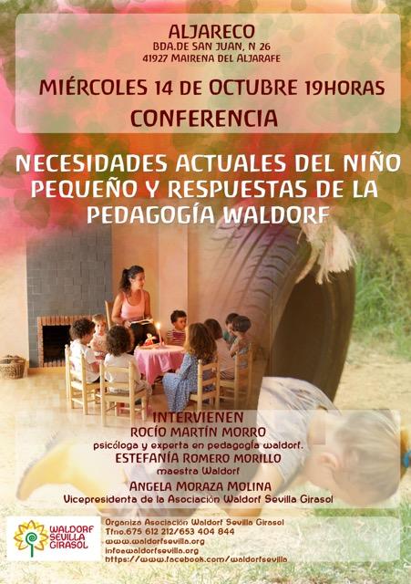 Conferencia: Necesidades actuales del niño pequeño y resùestas de la pedagogía Waldorf.