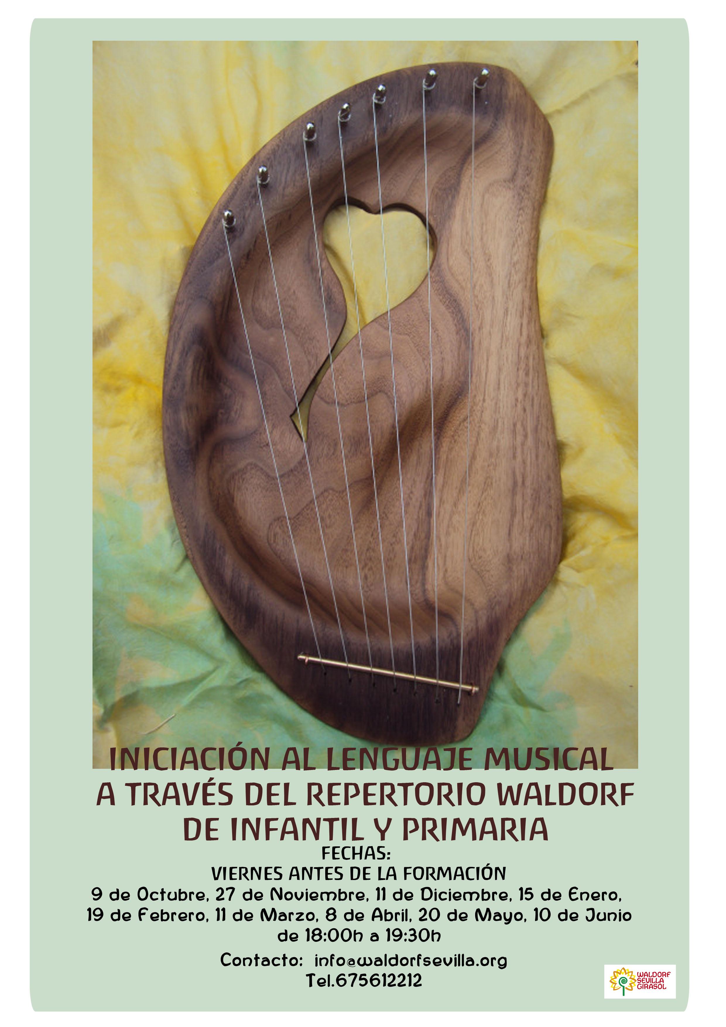 Curso de iniciación al lenguaje musical a través del repertorio Waldorf
