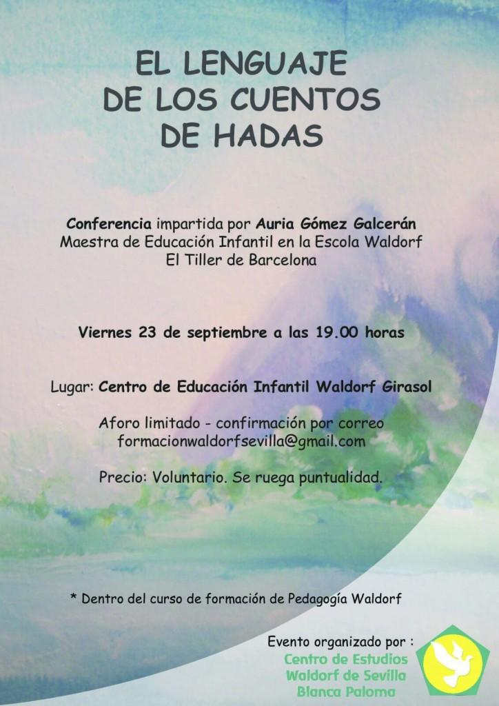 Conferencia El Lenguaje de los Cuentos de Hadas 23 de septiembre