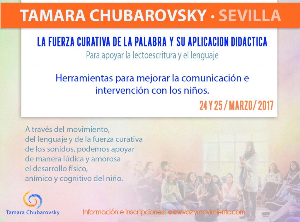 La fuerza curativa de la palabra y su aplicación didáctica_Tamara Chubarovsky 24 y 25 de marzo