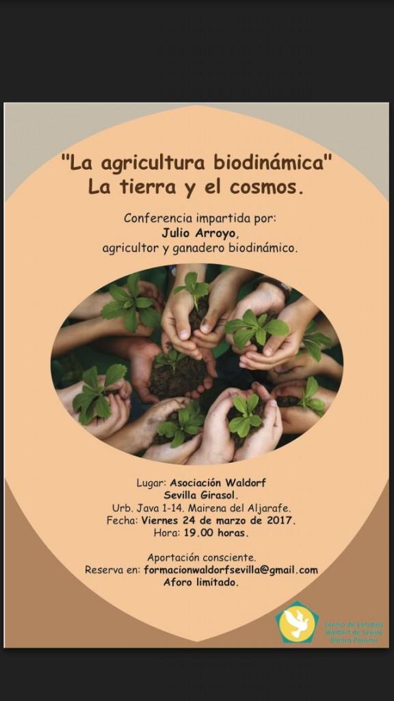 La agricultura biodinámica. La Tierra y el Cosmos_Julio Arroyo 14 de marzo 19:00