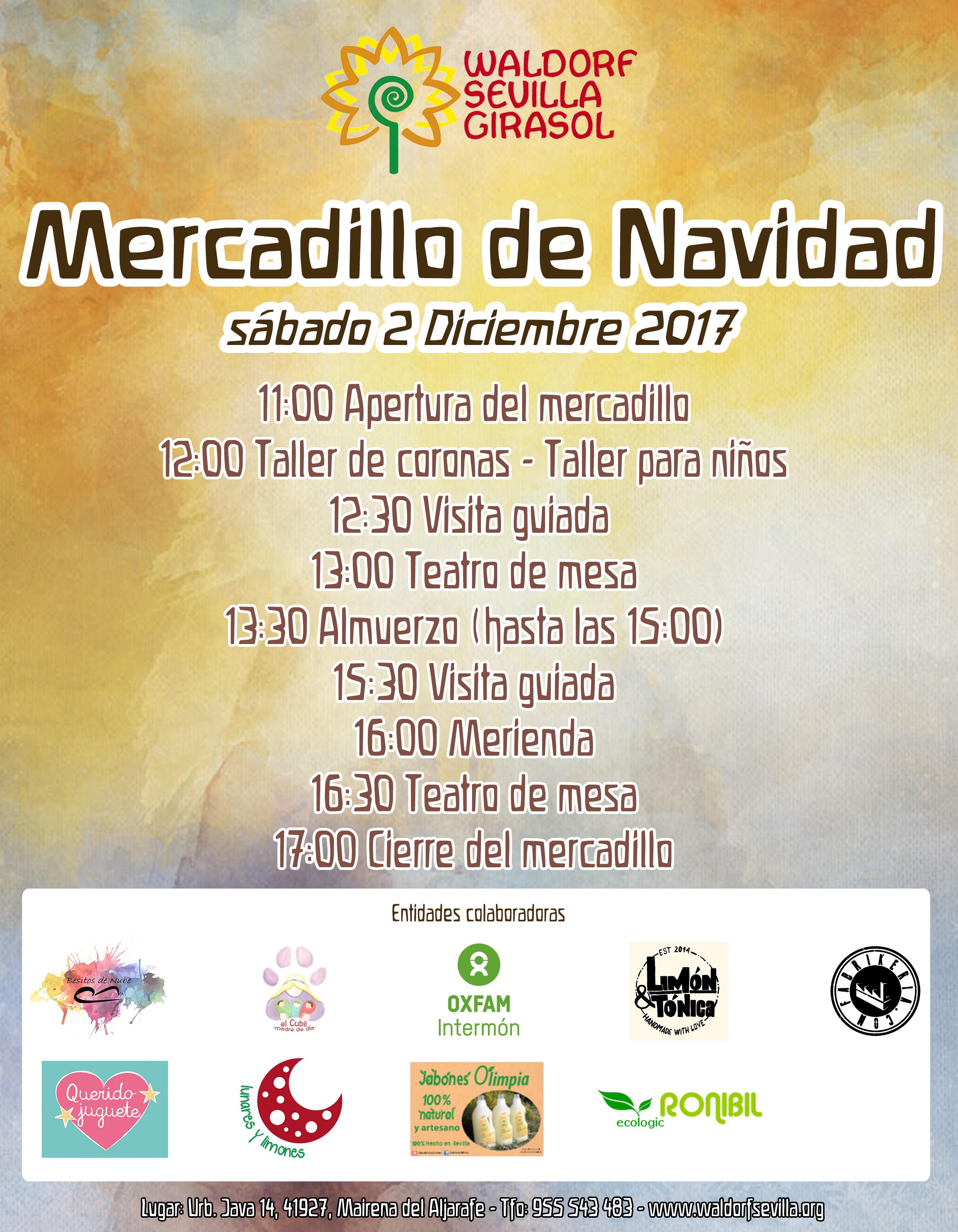 Mercadillo de Navidad 2 diciembre/Christmas market 2nd december