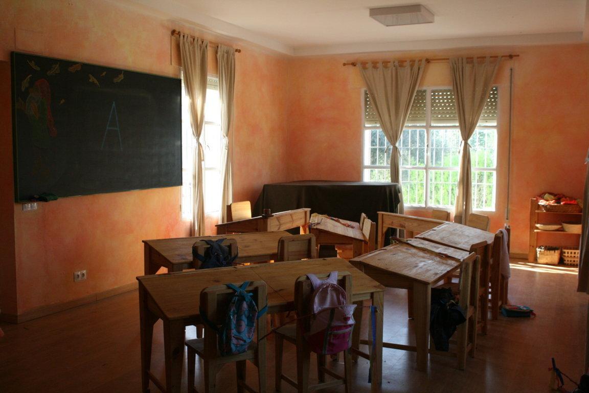 A por nuestra segunda aula de primaria!/ Let's go for our second primary classroom!