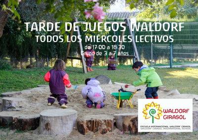 Tarde De Juegos Waldorf Waldorf Sevilla
