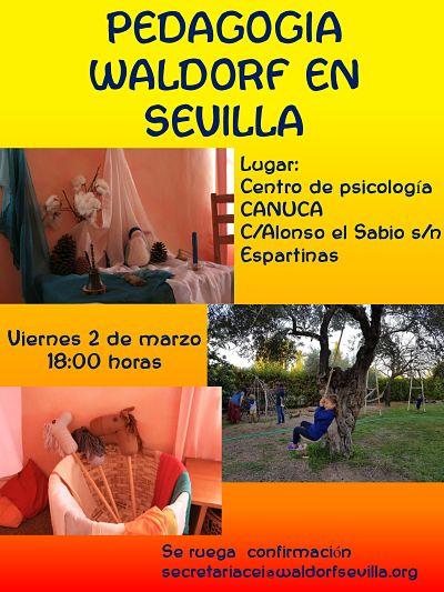 Cancelada_Charla informativa 2 de marzo Canuca, Espartinas