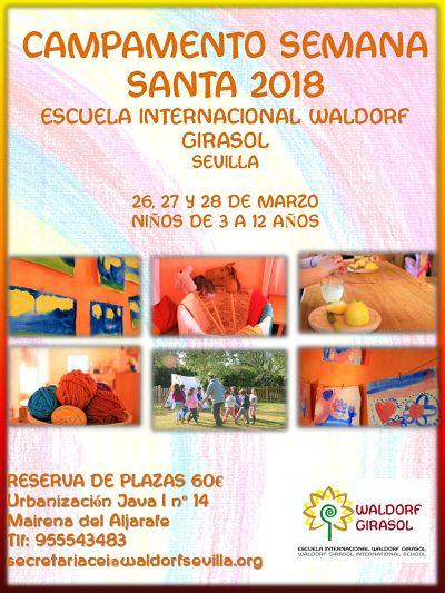 Campamento de Semana Santa 26, 27 y 28 de marzo.