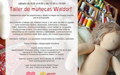 Workshop Waldorf dolls 21st April_Sandra Chandia