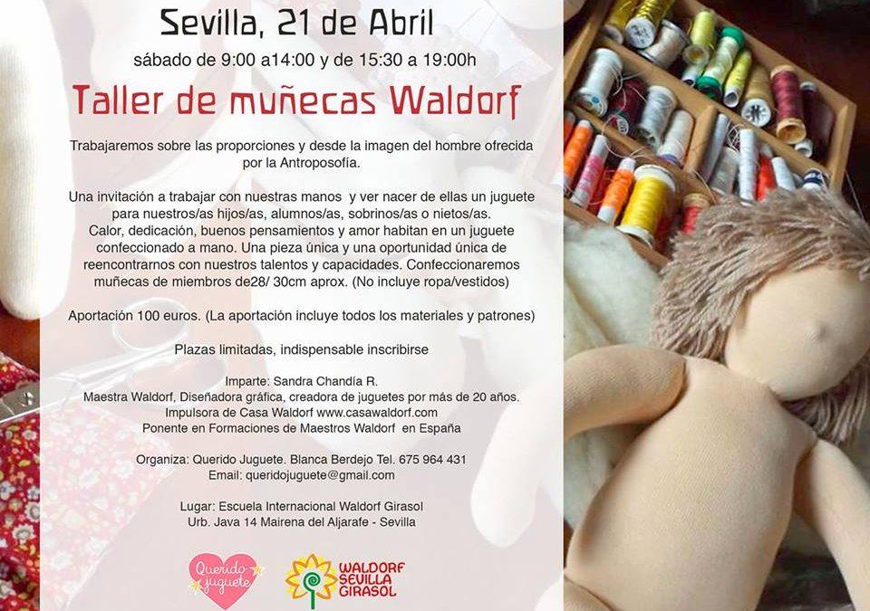 Workshop Waldorf dolls 21st April_Sandra Chandia