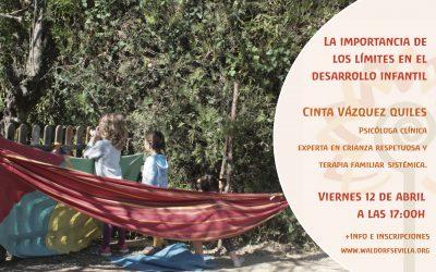 Conferencia-coloquio: La importancia de los límites en el desarrollo infantil