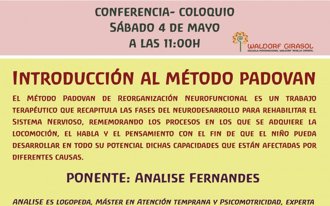 Conferencia-Coloquio Introducción al método Padovan