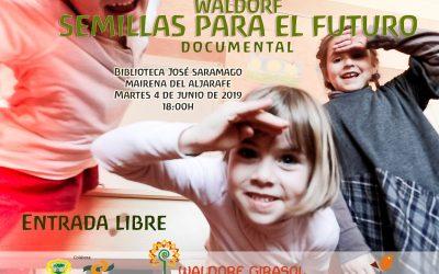 """Presentación Documental """"Waldorf: Semillas para el futuro"""""""