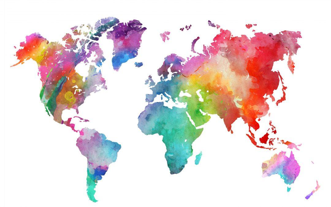 Los girasoles de viaje por el mundo