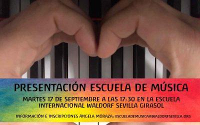 Presentación Escuela de Música • Music school presentation