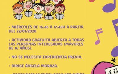 Coro adultos escuela • Adult Chore