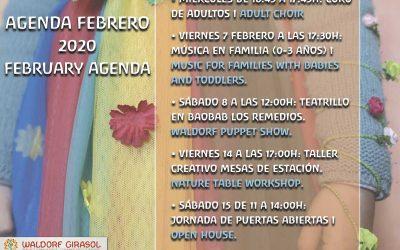Agenda Febrero / February Agenda 2020