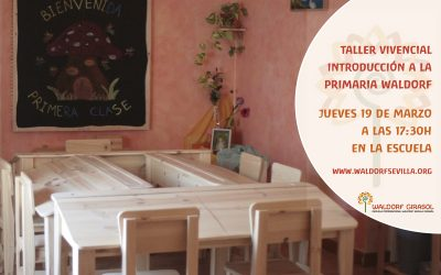 Taller vivencial Primaria Waldorf • Workshop: Introduction to Waldorf Primary Education