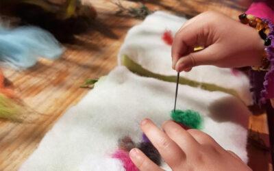 ¡Taller de tapices de lana en familia!
