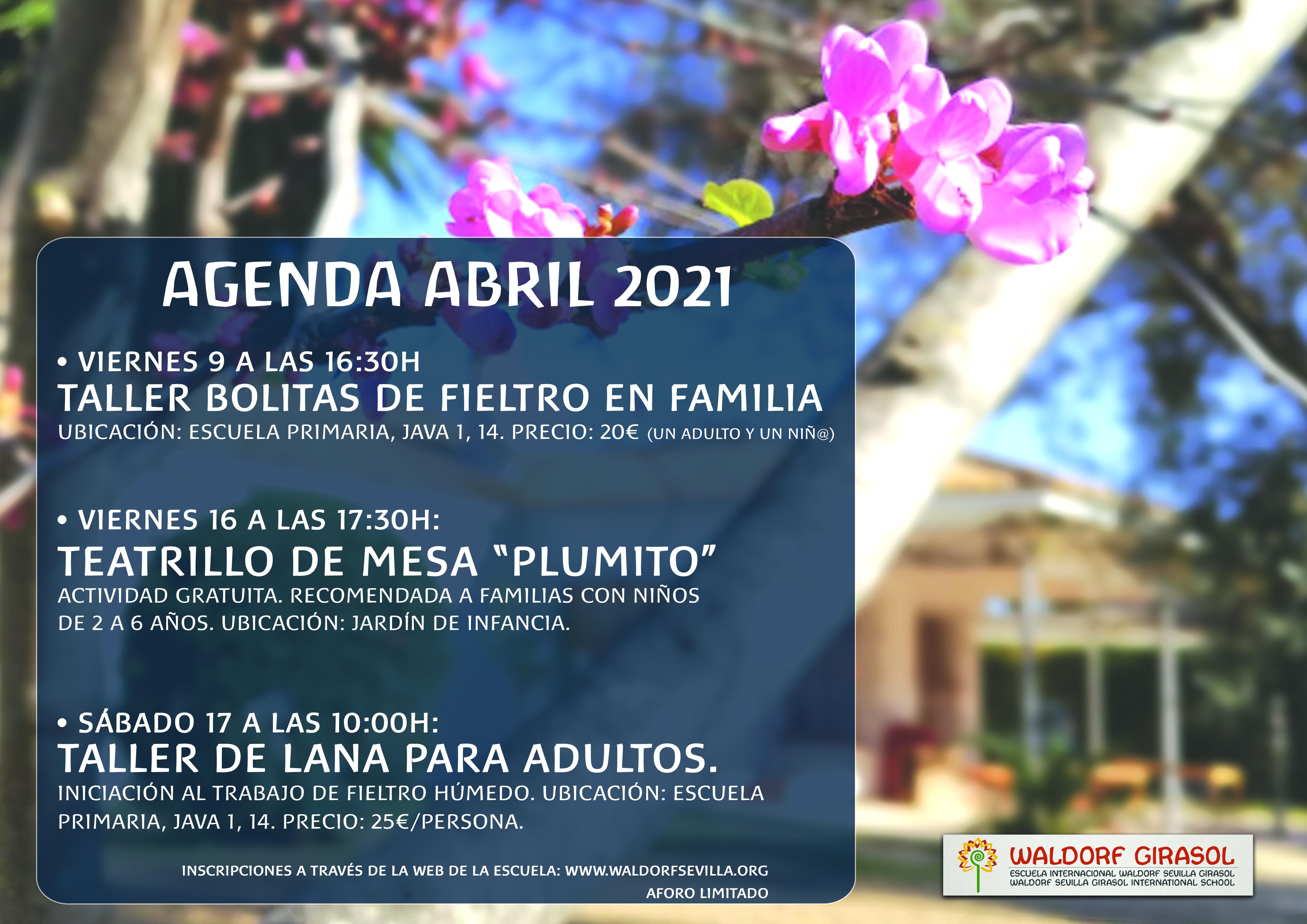 Agenda Abril 2021