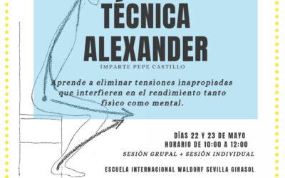 CURSO DE INICIACIÓN A LA TÉCNICA ALEXANDER