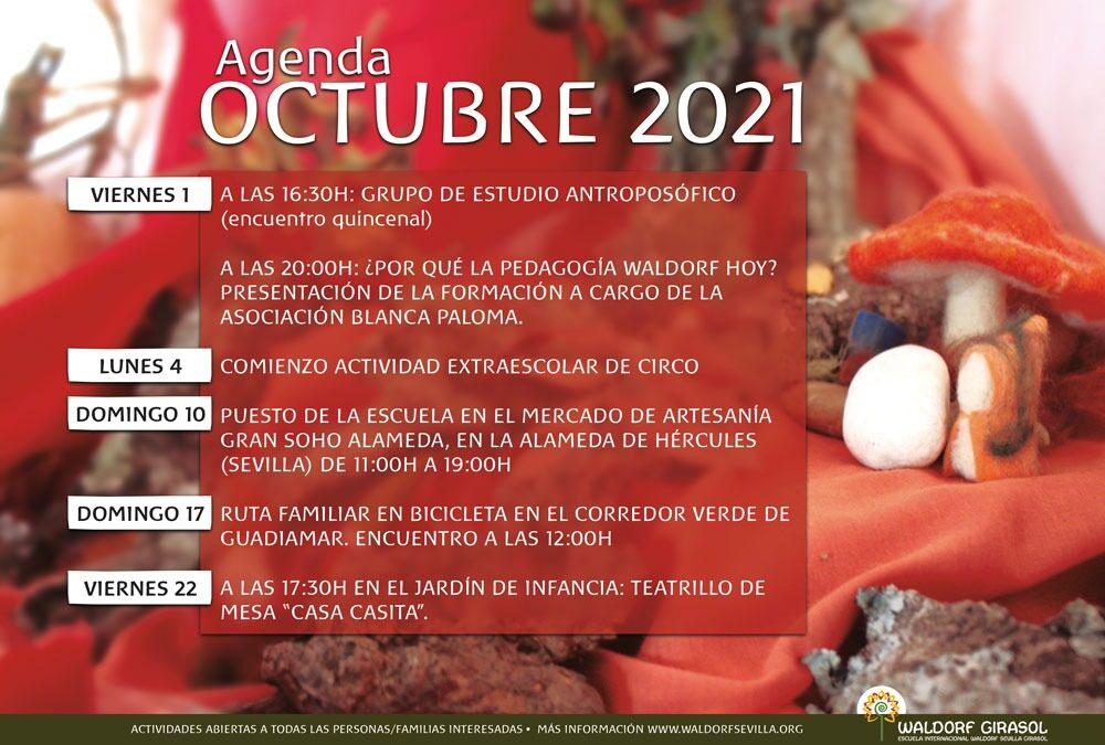 Agenda pública OCTUBRE